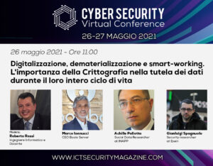 Cybersecurity Virtual Conference 2021